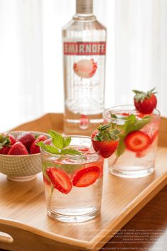 Ease your breezy summer night with The Porch Sipper recipe. 1.5 oz. Smirnoff Sorbet® Light Summer Strawberry and 3 oz. diet citrus soda. Pour ingredients over ice. Stir & enjoy.