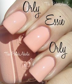 Orly Cool Romance - Prelude to a Kiss vs Essie A Crewed Interest...