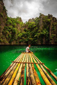 Coron lagoons, Philippines