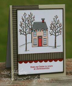 Christmas Home for FMS148 by Alcojo94 - Stampin' Up!