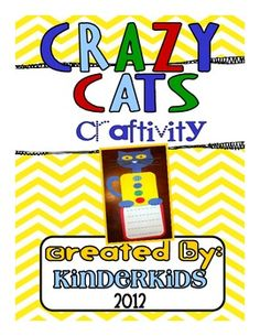 $Cat Craftivity for Your Favorite Cat Books