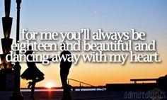 dancin away with my heart