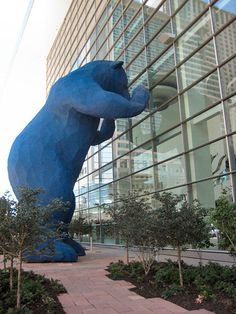 Denver convention center - blue bear
