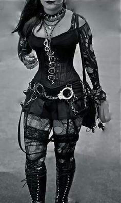 Lovely gothic clothing