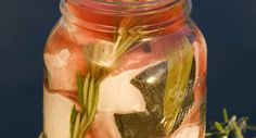Pickled Rosemary Halibut