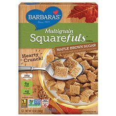 Perfect pre-workout snacks: Barbara's Multigrain Maple Brown Sugar Squarefuls