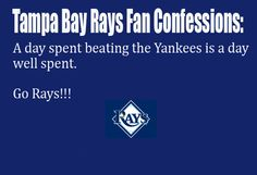 Tampa Bay Rays Fan Confession #56