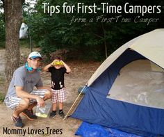 Tips for First-Time Campers from a First-Time Camper {from @MommyLovesBlog}