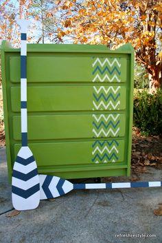 Apple Green dresser