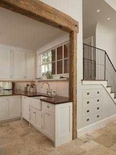 Convenient Staircase Storage!!
