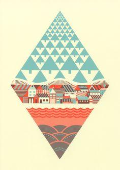 Illustration / Waterfrontier | Andrew Holder