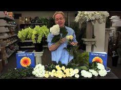 Michael Gaffney Floral Design - Creating A Bridal Bouquet - YouTube