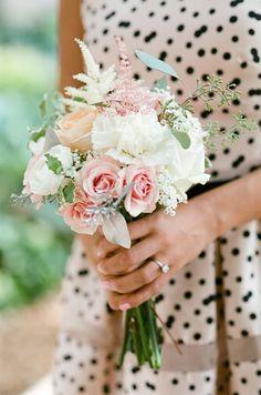 Polka Dot Bridesmaids //SO ADORABLE!!!