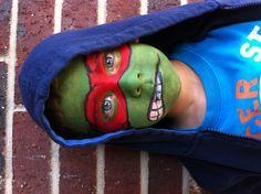 face paint super heros, pintacarita, captain america face paint, face paintings, face painting super heroes, facepaint, painted faces super heroes, ninja turtles, kid