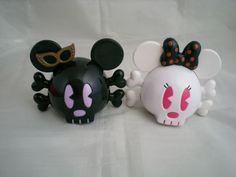 Mouse skulls
