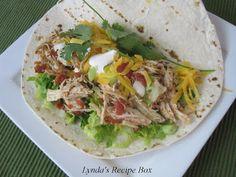 Lynda's Recipe Box: Slow Cooker Chicken Taco Meat