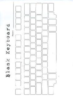 blank keyboarding sheet for quiz keyboarding pinterest. Black Bedroom Furniture Sets. Home Design Ideas