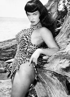 Bettie Page by Bunny Yeager 1954  Happy Birthday Bettie - April 22, 1923