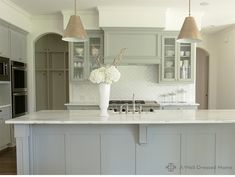soft gray cabinetry