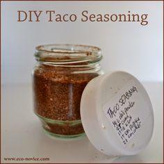 Easy-peasy DIY Taco Seasoning Recipe