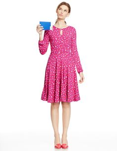 Marilyn Dress #boden