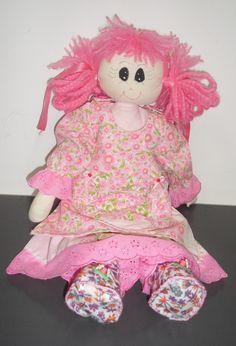 Bonecas de Pano: Boneca Leticia