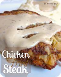 Six Sisters Chicken Fried Steak Recipe is very tasty!