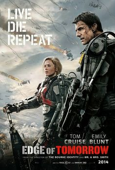 Ultimate 3D Movies: Edge Of Tomorrow - 5 Movie Stills And Latest Poster (June 2014)