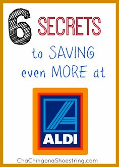 Six Ways to Save Even More Money Shopping at ALDI - no coupons involved. Number one might surprise you!