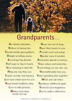 This is what Grandparents should mean