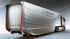 Mercedes-Benz Developing Aerodynamic Big Rig