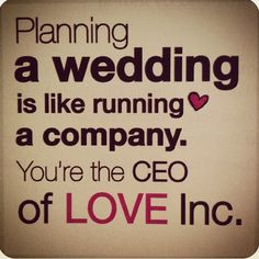 Wedding Planner Quotes Love