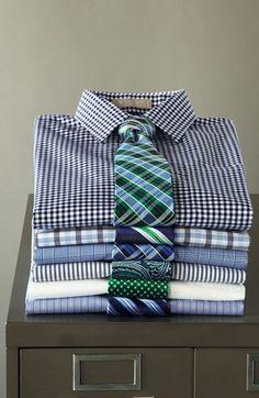 Nordstrom Smartcare™ Wrinkle Free Trim Fit Dress Shirt | Nordstrom