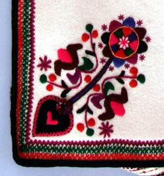 "TREE OF LIFE by N.F. Karlins  ""The Tree of Life, the Sun, the Goddess: Symbolic Motifs in Ukrainian Folk Art,"" Nov. 23, 2005-Oct. 15, 2006, at the Ukrainian Museum, 222 East 6th Street, New York, N.Y. 10003. #embroidery"