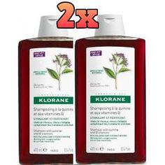 Klorane Promo Δυναμωτικό Σαμπουάν με Quinine 2x400ml