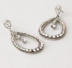 Eva Drop Earring - Dazzle the night away