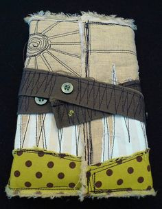 Recycled Fabric journal
