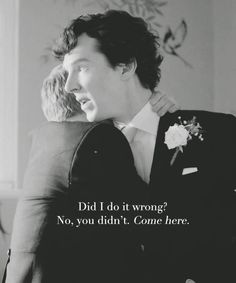 Sherlock's best man speech.