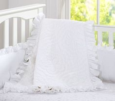Ruffle Collection Nursery Bedding #pbkids