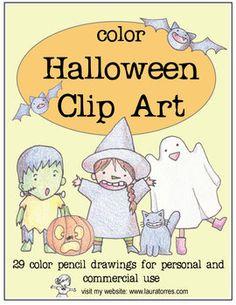 Color Halloween Clip Art