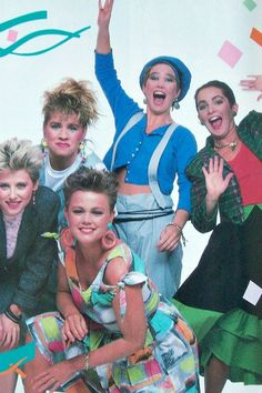 The Go-Go's... These chicks made me wanna be in a band! Damn they ROCK!