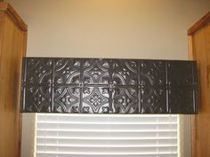 Reserved for valry fetrow wooden cornice primitive picture - Wooden Valance On Pinterest