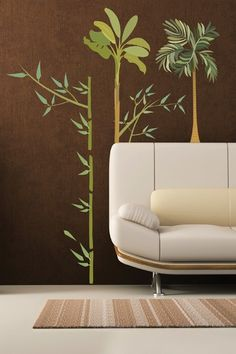 Bamboo Removable Wall #Decal