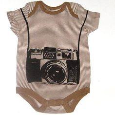 Baby Photographer Funny Camera Onesie Bodysuit For Newborn