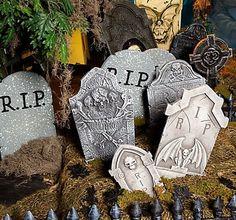 Set Up a Gory Garden Graveyard