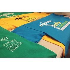 The t-shirts arrived for orientation, starting Monday at Candler! We're excited to welcome 160 incoming students from 12 countries and 22 states. #cst #theology