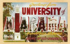 University of Alabama // Remember The Rose Bowl