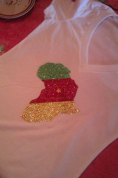 #AfricanShop #AfricanFlags #Cameroon flag By Crystal Customz