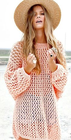 Sweaters only during the Fall and Winter? No such thing anymore! #Summerknits #love