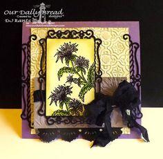 ODBDSLC212 (Week 2)  Stamps - Our Daily Bread Designs Bee Balm, ODBD Custom Beautiful Borders Dies